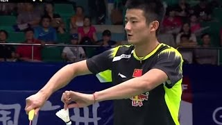 L.Dan v C. Long |MS-QF| Wang Lao Ji BWF World Champ. 2013