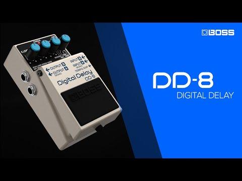 BOSS DD-8 Digital Delay performed by Jack Gardiner