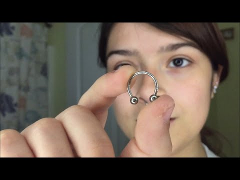 Changing my septum piercing for the first time