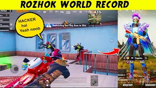 NEW World Record Kills in ROZHOK in SEASON 14 100 RP Max in PUBG Mobile