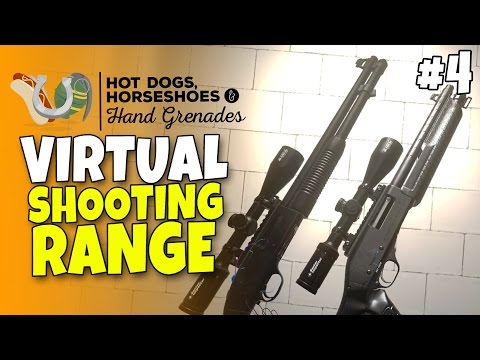 Virtual Shooting Range & Guns #4 - Return of Sniper Shotgun - H3VR Htc Vive