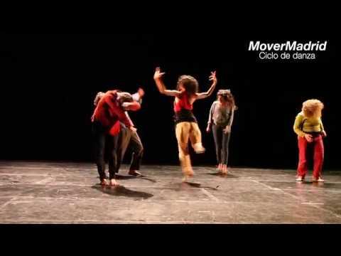 Las palabras y los cuerpos -MoverMadrid - Sala Cuarta Pared - YouTube