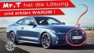 BMW 4er 2021..Wieso, Weshalb, Warum ❓ Erklärung der RIESEN-NIERE und Verbesserungsvorschlag am Ende