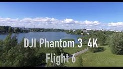 DJI Phantom 3 4K Flight 6 -Töölönlahti