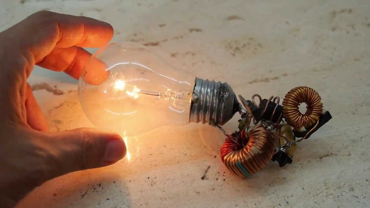 Free Energy Light Bulb Unveiled