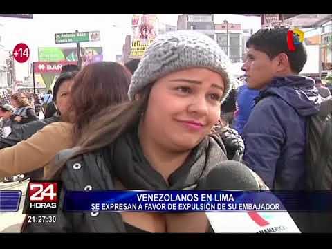 ¿Por qué se expulsó a embajador venezolano en Perú?
