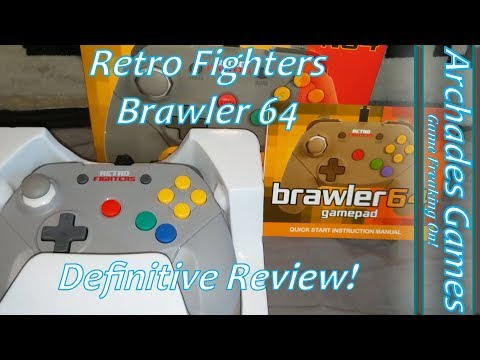 The Retro Fighters Brawler 64 Definitive Review!