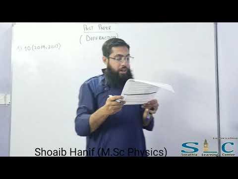 Physics Numericals Chap#9 Nature Of Light (XI) Urdu/Hindi By Shoaib Hanif