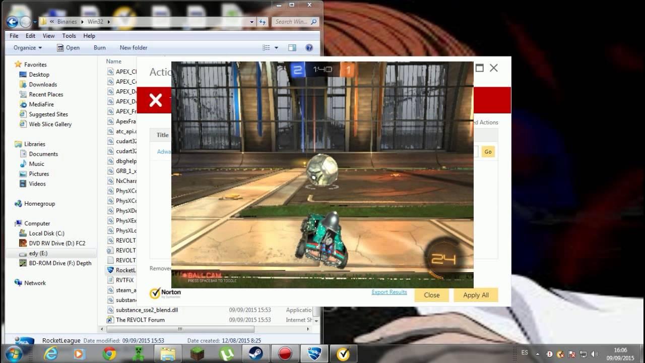 Descargar rocket league online portable - YouTube