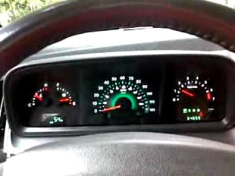 2010 Dodge Journey SXT - 3.5L V6 - Start-Up - Gauge Sweep - YouTube