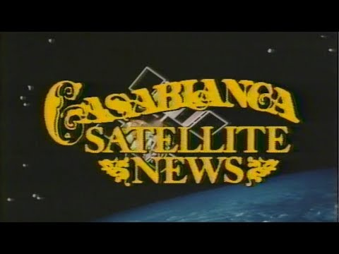 Casablanca Satellite News | Live Broadcast 1983 | Inteli•Touch Launch