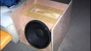T15 Bass Bin based on Metro Audio's E-Array System
