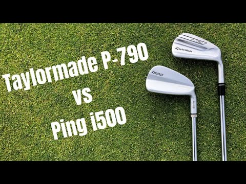 Ping i500 vs Taylormade P790 Irons - The Longest Hitting Irons Of 2018?