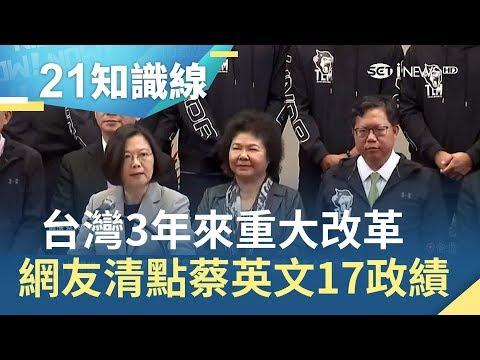 3年過去了...台灣有什麼改變?網友清點蔡英文任內17項政績|主播 廖婕妤|【KEYPO熱搜】20190320|三立iNEWS