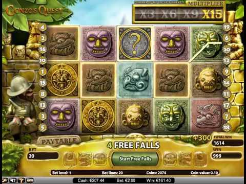 Gonzo's Quest бонус! Лудоводы, игровые автоматы. Как выиграть?из YouTube · Длительность: 1 мин50 с