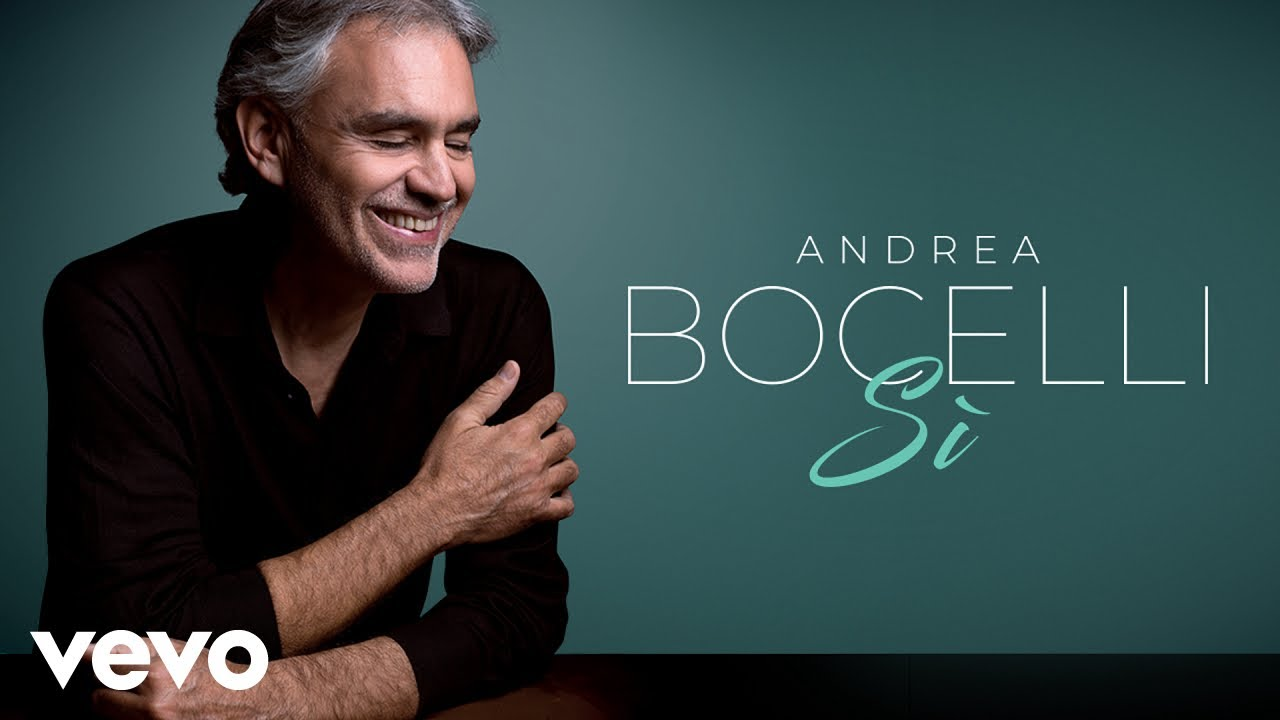 Andrea Bocelli Vivo Audio Youtube