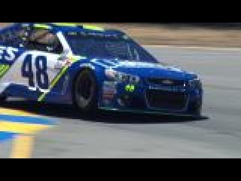 Compilation: Monster Energy Series drivers hop the curb