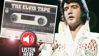 Elvis Recorded ALIVE on Tape Four Years AFTER Death