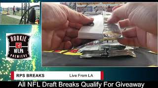 RPS 18 Contenders Draft Picks FB 12 Box Case #4- 3 Players Per Break thumbnail