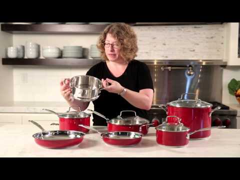 Chef's Classic™ Stainless Color Series 11-Piece Set (CSS-11MR) Demo Video