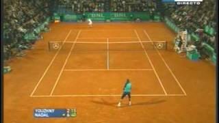 rafa vs. youzhny rome '07