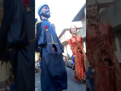 I giganti di San Costantino Calabro a paravati   170817 festa Addolorata
