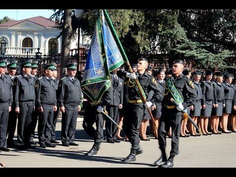 Церемония вручения знамени Управлению ФССП России по Республике Крым