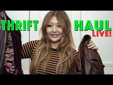 Live Thrift Haul!