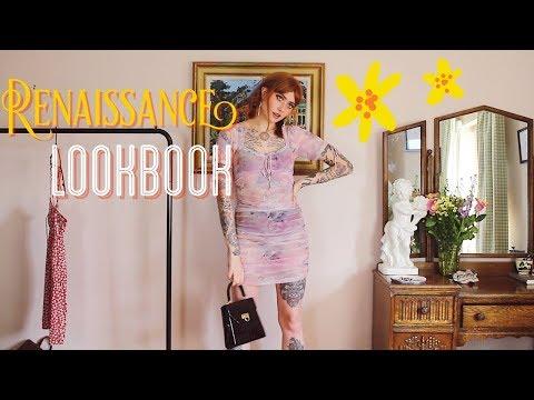 A Renaissance inspired Lookbook 🌹 || Harmony Nice
