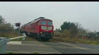 Züge Gefilmt heute Doppeltraktion Ludmilla mit Gatx Kesselzug