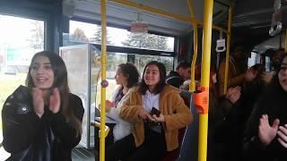 Flash Mob  Otobüste Şenlik Var
