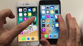 Iphone 6 IOS 9 vs IOS 11 (Speed Test)!