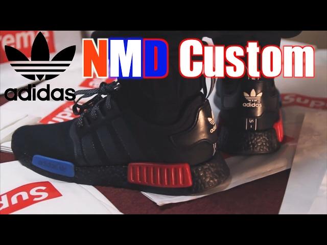 Adidas NMD R1 OG CUSTOM Tutorial
