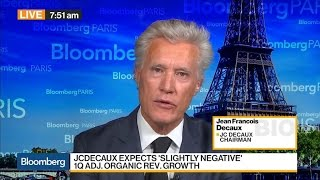 JC Decaux's Chairman Says U.S. a Top Country for Growth