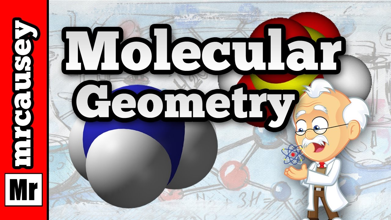 Molecular Geometry And Vsepr Theory Youtube