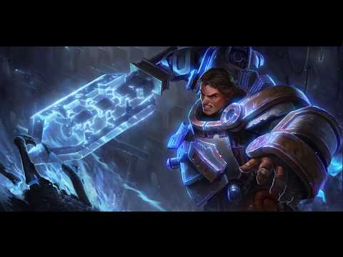 2020: Steel Legion Garen (Thunder God) | Login Screen | - VFX Artist HauSB | League of Legends