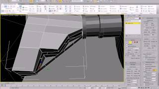 Making a Star Wars Tie Fighter in 3ds Max and Keyshot - 001 scaffolding basic parts