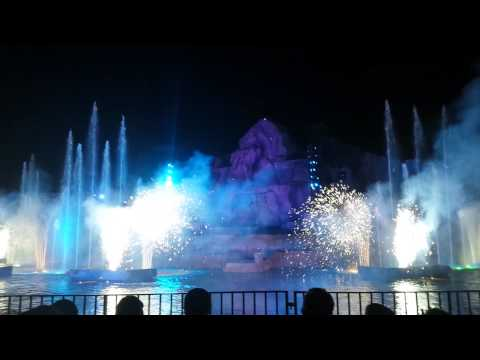 Fantasmic Finale Hollywood Studios 2015