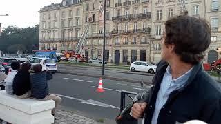 incendie à Bordeaux