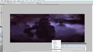Speed painting The Fog HD