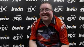 Stephen Bunting says he's 'here to win' after topping his group at GSOD