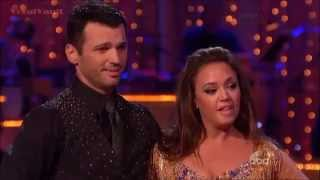 Leah Remini & Tony - Cha Cha- DWTS 17 Week 4