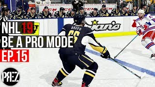 NHL 19 Be A Pro Mode - I LIVE IN THE BOX! Ep.15 (Xbox One X)