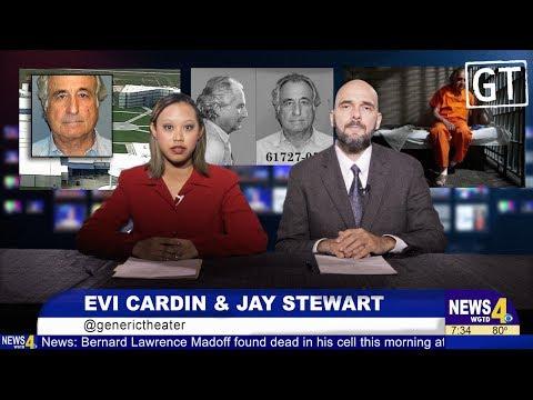 Breaking News – Bernie Madoff Is Dead
