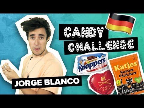🍬 Jorge Blanco: German Candy Challenge & verrät uns, wie seine Tour wird | Digster Pop