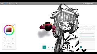 "Let's draw ""mystery user"" with a mouse! Roblox free draw~"