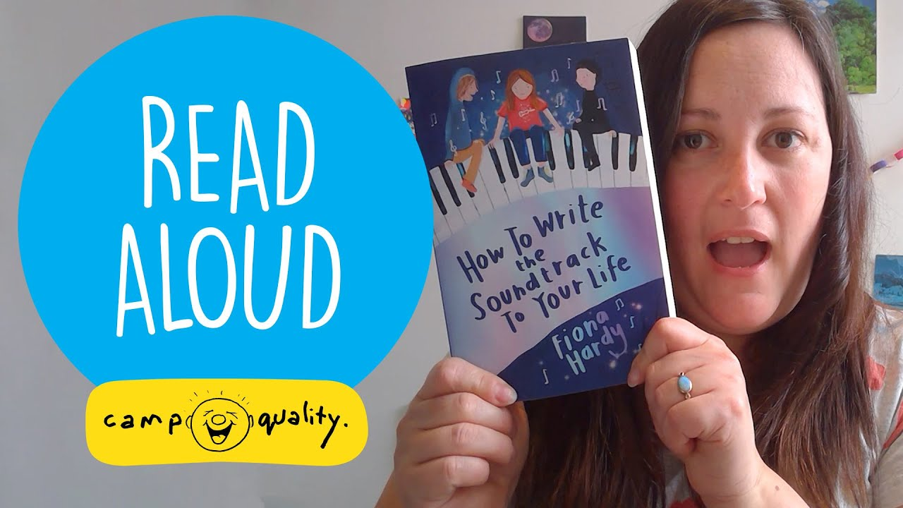 'How To Write The Soundtrack To Your Life' - Kids' Book Read Aloud With Fiona Hardy