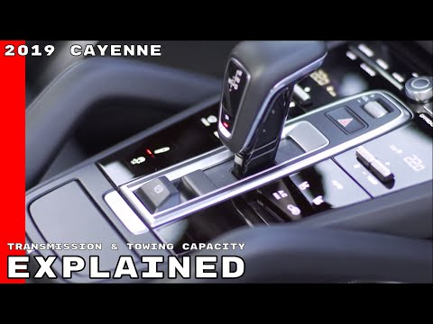2019 Porsche Cayenne 8-Speed Transmission & Towing Capacity Explained