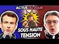 Situation expl🅾️sive, Macron gℹ️flé, Mélenchon menacé, ouverture des boîtes... Actus du jour