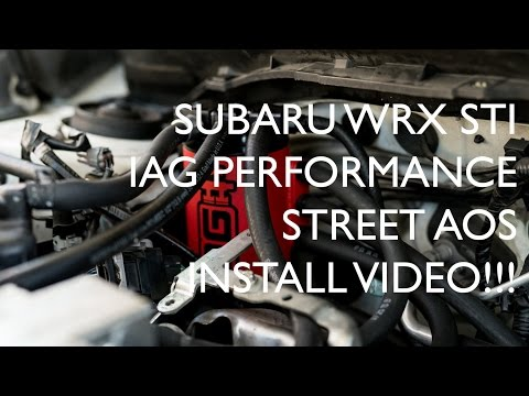 Subaru WRX STI | IAG Performance AOS Street Install DIY